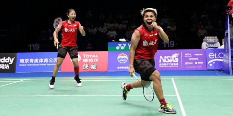 Piala Sudirman 2019: Greysia / Apriyani Bawa Indonesia Juarai Grup 1B