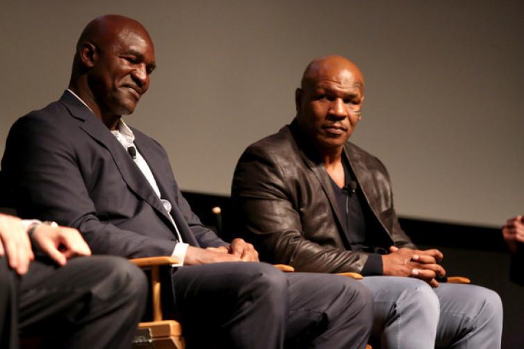 Nantikan Duel Ulangan Evander Holyfield dan Mike Tyson