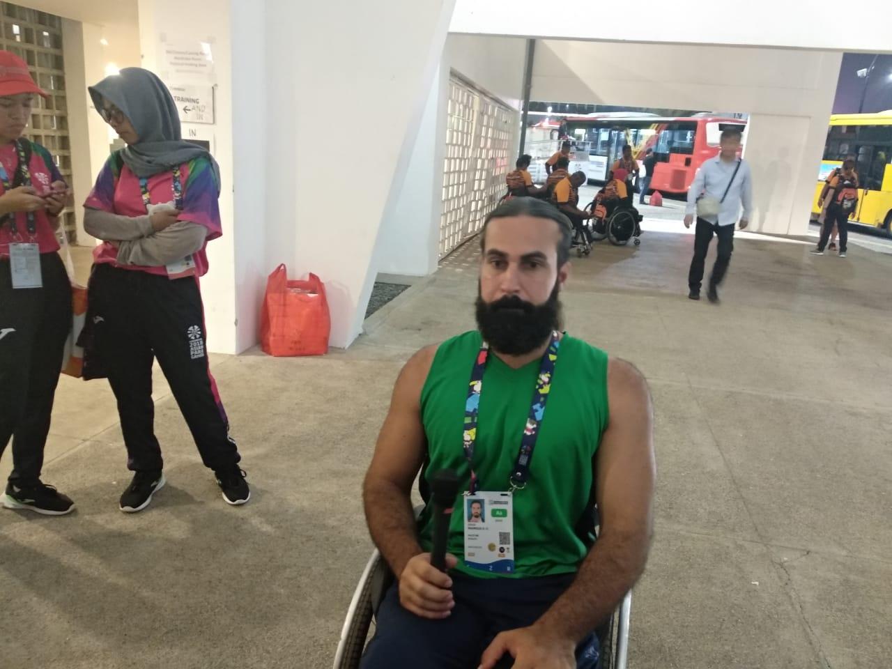Mahmoud Zohud, Korban Perang yang Memikul Mimpi Rakyat Palestina pada Asian Para Games 2018