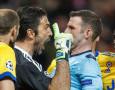 Protes Keras Wasit, UEFA Hukum Gigi Buffon