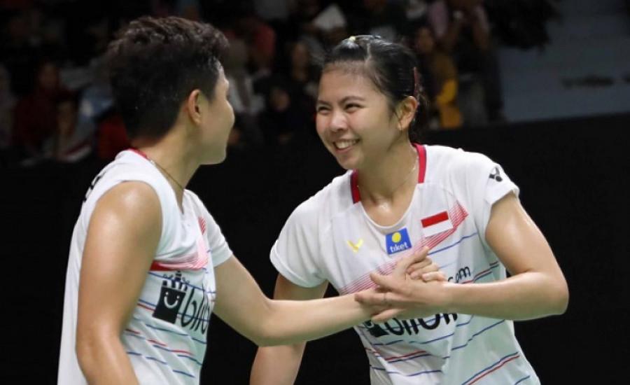 Hasil Thailand Open 2021: Greysia / Apriyani Menang Mudah