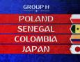 Jadwal Lengkap Grup H Piala Dunia 2018