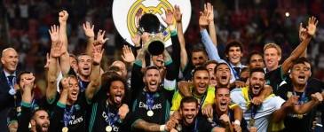 Real Madrid Pertahankan Gelar Piala Super Eropa