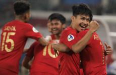 Hitung-hitungan Timnas Indonesia U-19 untuk Lolos ke Perempat Final Piala Asia U-19 2018