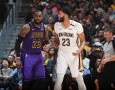 Diajak Gabung Lakers Oleh LeBron James, Ini Tanggapan Anthony Davis