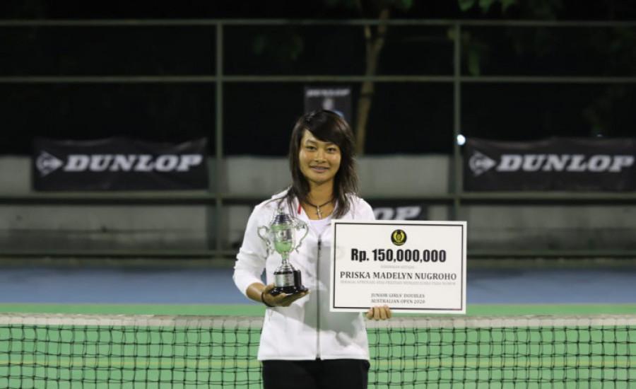 Priska Madelyn Masuk Nominee Penghargaan Tenis Bergengsi