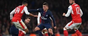 Hasil Liga Champions: PSG Tahan Imbang Arsenal di Emirates Stadium