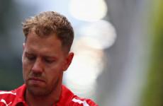 Sebastian Vettel Frustrasi Mengejar Lewis Hamilton