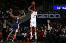 Hasil NBA: James Harden Cetak 54 Poin, Rockets Masih Kalah