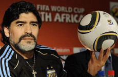 Video Maradona Lakukan Juggling Jeruk