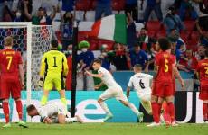 Piala Eropa 2020: Gol Pertama Italia yang Disesalkan Belgia