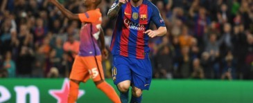 Hattrick Messi Bawa Barcelona Bungkam Manchester City