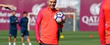 Iniesta Ukir Rekor Baru Di La Liga