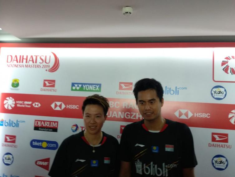 Indonesia Masters 2019: Tontowi Ahmad/Liliyana Natsir ke Semifinal