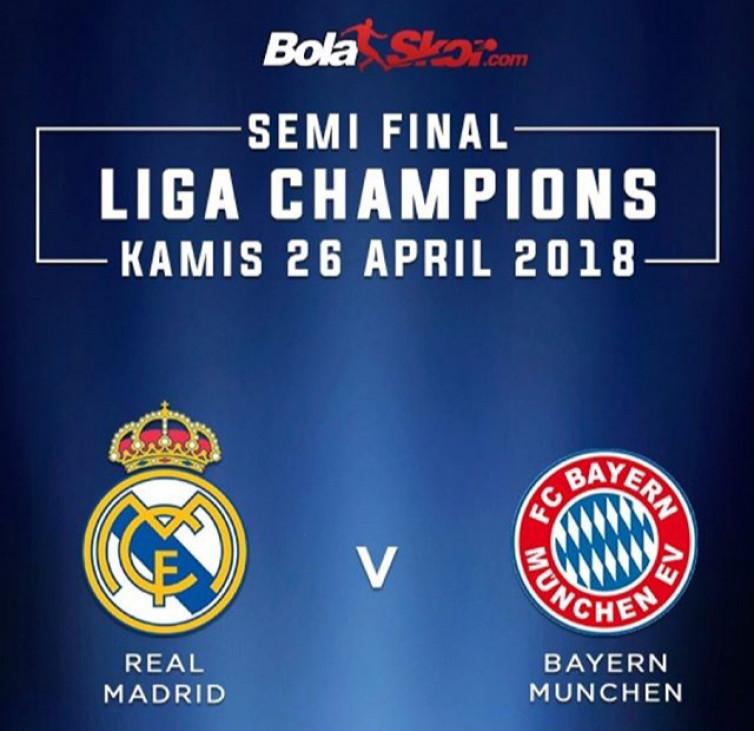 Prediksi Bayern Munchen Vs Real Madrid: Duel Tim Bertabur Bintang