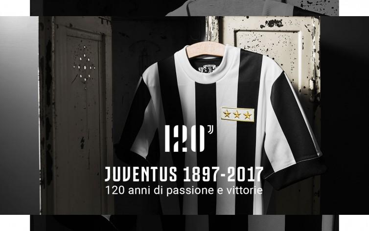Ultah Ke-120, Juventus Luncurkan Kostum Spesial