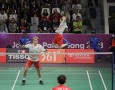 Marcus Fernaldi Gideon / Kevin Sanjaya Sukamuljo Bantu Indonesia Imbangi China pada Final Asian Games 2018