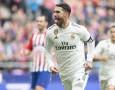 Real Madrid Lumat Atletico, Sergio Ramos Pecahkan Dua Rekor Sekaligus