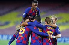 Barcelona 3-1 Napoli: Blaugrana Masih Terlalu Kuat