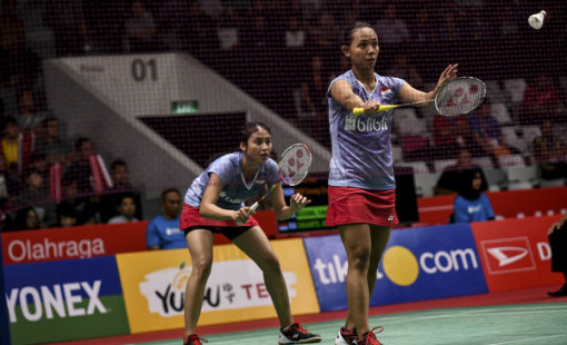 Della/Rizki Bawa Pulang Gelar Juara Vietnam Open 2019