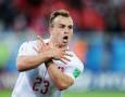 FIFA Investigasi Selebrasi Gol Ala Burung Elang Milik Xhaka dan Shaqiri