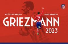 Kesetiaan Antoine Griezmann kepada Atletico Madrid Berbuah Kontrak Anyar