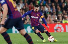 Seperti Ronaldo, Messi Dapat Tepuk Tangan dari Suporter Lawan Usai Cetak gol