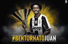 Juventus Resmi Pinjam Kembali Juan Cuadrado