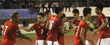 Timnas Indonesia Tahan Imbang Vietnam Dalam Laga Uji Coba