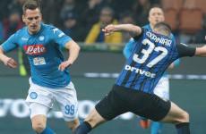 Jadwal Siaran Langsung Serie A dan Piala FA: Napoli Vs Inter Milan Disiarkan Televisi Nasional