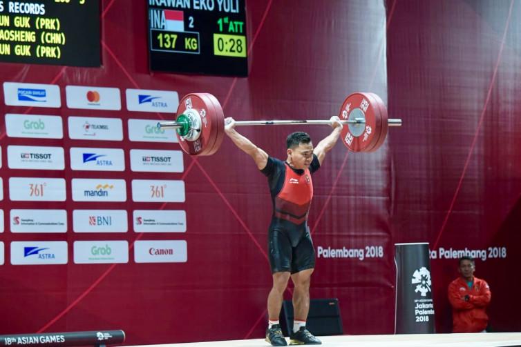 Medali Emas Kejuaraan Asia Jadi Hasil Mutlak yang Harus Didapat Eko Yuli