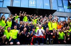 Rekor, Pit Stop Tim Red Bull di Jerman Hanya 1,88 detik