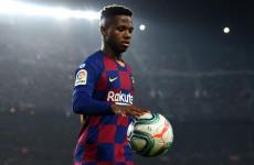 Niat Manchester United Meminang Ansu Fati Terhalang Restu Barcelona