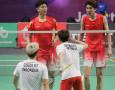 Final Beregu Putra Bulu Tangkis Asian Games 2018: Arti Gestur Tengil Kevin ke Li / Liu
