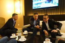 Sebelum Dukung Timnas Indonesia, Ketum PSSI Iwan Bule Sempatkan Bertemu dengan Presiden AFF