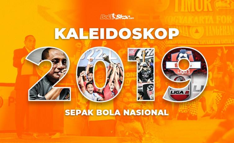 Kaleidoskop Sepak Bola Nasional Januari-April 2019