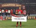 Rezaldi Hehanussa Jadi Pemain Muda Terbaik Piala Presiden 2018
