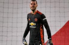 David De Gea Sentil Barisan Serang Manchester United