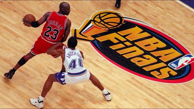 Michael Jordan dan 3 Tembakan Bersejarah di Final NBA