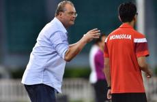 Kalah dari Timnas, Pelatih Mongolia Kritik Kondisi Lapangan Stadion Harapan Bangsa