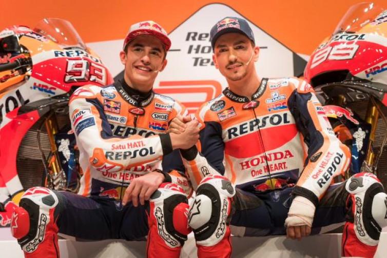 Latihan Bebas 1 MotoGP Spanyol: Marquez-Lorenzo Posisi 1-2, Rossi Terpuruk