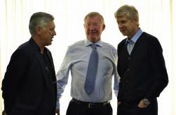 Sir Alex Ferguson Bangga Pernah Menjadi Rival Arsene Wenger