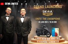 Gelar Grand Launching, Dewa United Bagi-bagi Motor dan Puluhan Smartphone