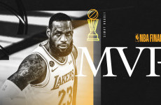 Bawa LA Lakers Juara, LeBron James Sabet Gelar MVP