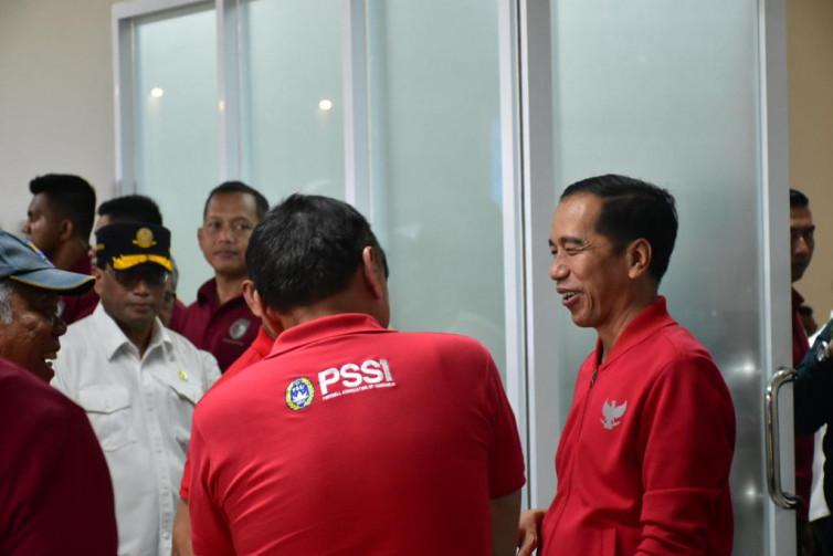 Presiden Jokowi Berharap Stadion Manahan Jadi Venue Piala Dunia U-20 2021