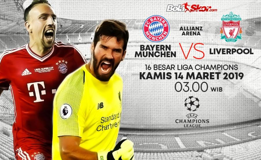 Prediksi Bayern Munchen Vs Liverpool: Allianz Arena Angker bagi Klub-klub Inggris