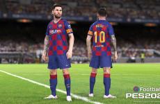 FIFA Masih Tanpa Sampul, PES Tunjuk Lionel Messi dan Ronaldinho
