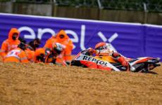 Sudah Tiga Balapan Marquez Tak Melihat Bendera Finis