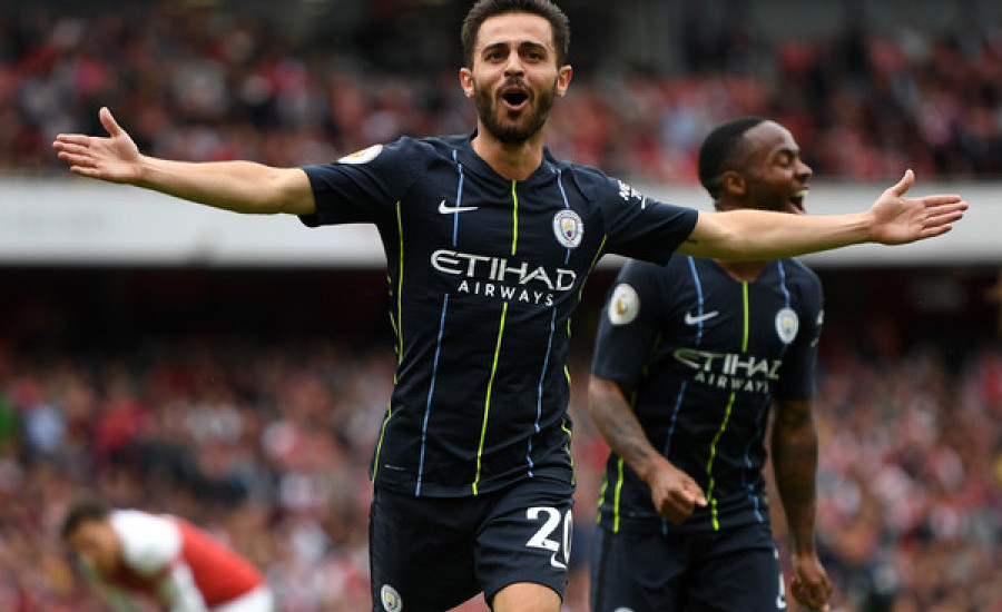 Arsenal 0-2 Manchester City, Debut Pahit Unai Emery
