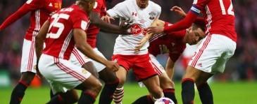 Southampton vs Manchester United Berbagi Hasil Imbang